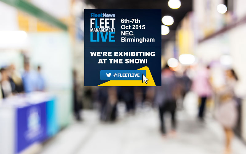 We're off to Fleet Management Live – Stand P58!
