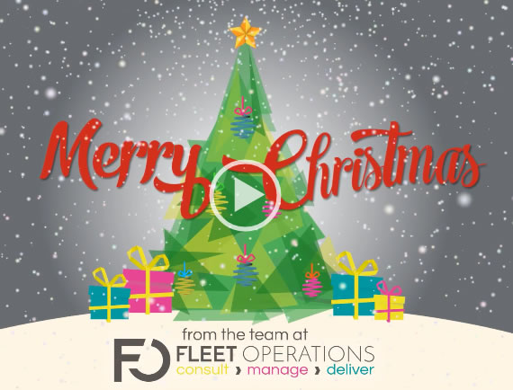 Merry Christmas from Fleet Operations